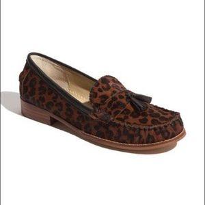 Dolce Vita Wentz Leopard Pony Hair Loafers